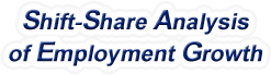 Shift-Share Analysis of Pennsylvania Employment Growth and Shift Share Analysis Tools for Pennsylvania